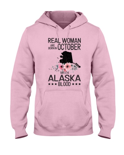REAL WOMAN ARE BORN IN OCTOBER WITH ALASKA BLOOD