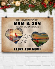 CALIFORNIA MARYLAND THE LOVE MOM AND SON 24x16 Poster aos-poster-landscape-24x16-lifestyle-29