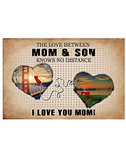 CALIFORNIA MARYLAND THE LOVE MOM AND SON 24x16 Poster front