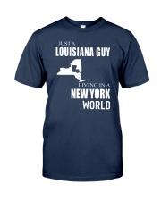 JUST A LOUISIANA GUY IN A NEW YORK WORLD Classic T-Shirt thumbnail