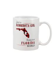 JUST A MINNESOTA GIRL IN A FLORIDA WORLD Mug thumbnail