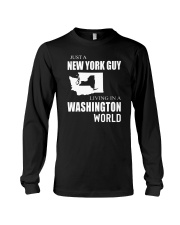 JUST A NEW YORK GUY IN A WASHINGTON WORLD Long Sleeve Tee thumbnail