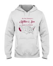 CALIFORNIA NEW JERSEY THE LOVE MOTHER AND SON Hooded Sweatshirt thumbnail