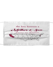 CALIFORNIA NEW JERSEY THE LOVE MOTHER AND SON Cloth face mask thumbnail