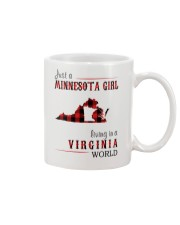 JUST A MINNESOTA GIRL IN A VIRGINIA WORLD Mug thumbnail