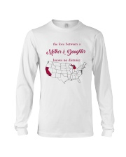 MICHIGAN CALIFORNIA THE LOVE MOTHER AND DAUGHTER Long Sleeve Tee thumbnail