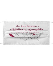 MICHIGAN CALIFORNIA THE LOVE MOTHER AND DAUGHTER Cloth face mask thumbnail