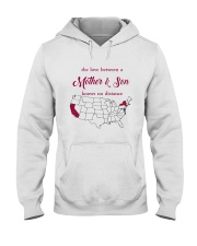 CALIFORNIA NEW YORK THE LOVE MOTHER AND SON Hooded Sweatshirt thumbnail