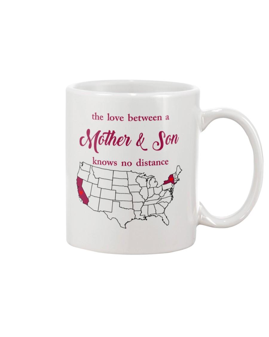 CALIFORNIA NEW YORK THE LOVE MOTHER AND SON Mug