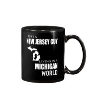 JUST A NEW JERSEY GUY IN A MICHIGAN WORLD Mug thumbnail