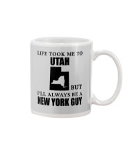 LIFE TOOK ME TO UTAH - NEW YORK Mug thumbnail