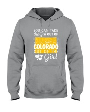 YOU CAN'T TAKE COLORADO OUT OF THE GIRL Hooded Sweatshirt thumbnail