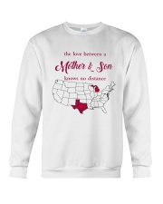 TEXAS MICHIGAN THE LOVE MOTHER AND SON Crewneck Sweatshirt tile