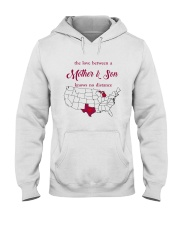 TEXAS MICHIGAN THE LOVE MOTHER AND SON Hooded Sweatshirt thumbnail