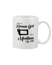 JUST A KANSAS GIRL IN A MONTANA WORLD Mug thumbnail