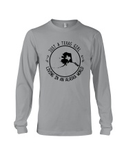 TEXAS GIRL LIVING IN ALASKA WORLD Long Sleeve Tee thumbnail