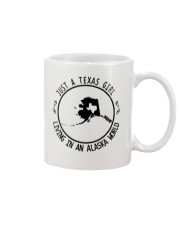 TEXAS GIRL LIVING IN ALASKA WORLD Mug thumbnail