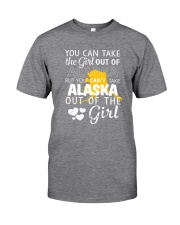 YOU CAN'T TAKE ALASKA OUT OF THE GIRL Classic T-Shirt thumbnail