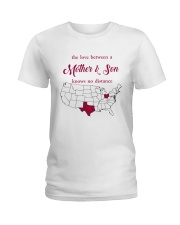 OHIO TEXAS THE LOVE MOTHER AND SON Ladies T-Shirt thumbnail