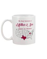 OHIO TEXAS THE LOVE MOTHER AND SON Mug back