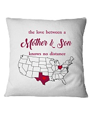 OHIO TEXAS THE LOVE MOTHER AND SON Square Pillowcase thumbnail