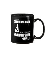 JUST A CALIFORNIA GUY IN A NEW HAMPSHIRE WORLD Mug thumbnail