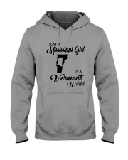 JUST A MISSISSIPPI GIRL IN A VERMONT WORLD Hooded Sweatshirt thumbnail