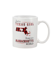 JUST A TEXAS GIRL IN A MASSACHUSETTS WORLD Mug thumbnail