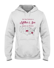 KANSAS GEORGIA THE LOVE MOTHER AND SON Hooded Sweatshirt thumbnail