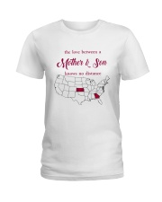 KANSAS GEORGIA THE LOVE MOTHER AND SON Ladies T-Shirt tile