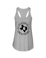 ARIZONA GIRL LIVING IN TEXAS WORLD Ladies Flowy Tank thumbnail