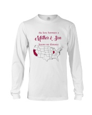 INDIANA CALIFORNIA THE LOVE MOTHER AND SON Long Sleeve Tee thumbnail
