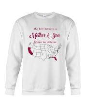 CALIFORNIA FLORIDA THE LOVE MOTHER AND SON Crewneck Sweatshirt thumbnail