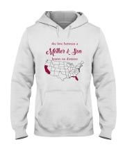 CALIFORNIA FLORIDA THE LOVE MOTHER AND SON Hooded Sweatshirt thumbnail
