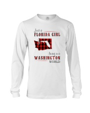 JUST A FLORIDA GIRL IN A WASHINGTON WORLD Long Sleeve Tee thumbnail