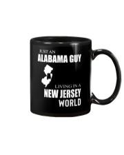 JUST AN ALABAMA GUY IN A NEW JERSEY WORLD Mug thumbnail
