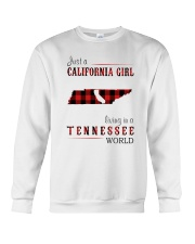 JUST A CALIFORNIA GIRL IN A TENNESSEE WORLD Crewneck Sweatshirt thumbnail
