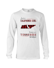 JUST A CALIFORNIA GIRL IN A TENNESSEE WORLD Long Sleeve Tee thumbnail