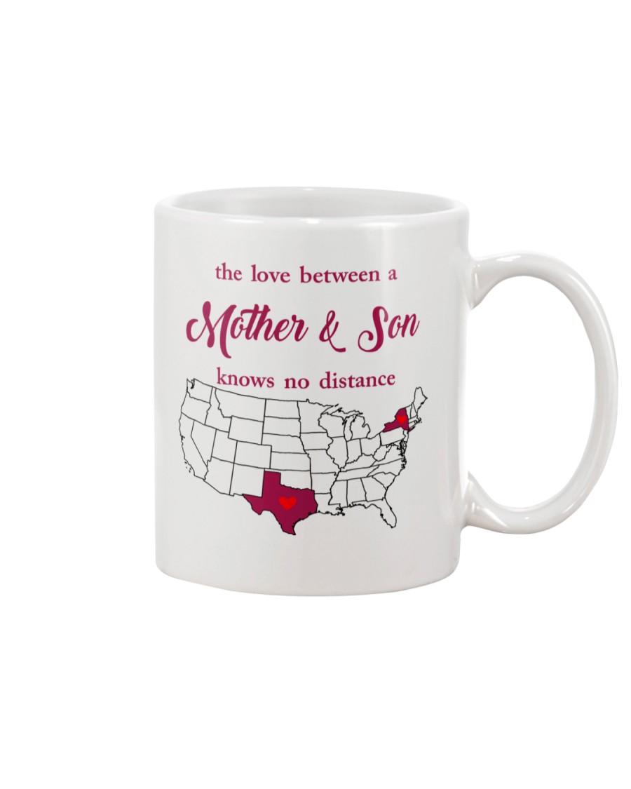 TEXAS NEW YORK THE LOVE MOTHER AND SON Mug