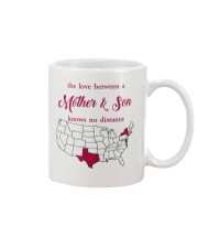 TEXAS NEW YORK THE LOVE MOTHER AND SON Mug front