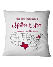 TEXAS NEW YORK THE LOVE MOTHER AND SON Square Pillowcase thumbnail