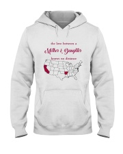 CALIFORNIA ARKANSAS THE LOVE MOTHER AND DAUGHTER Hooded Sweatshirt thumbnail