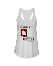 JUST A GEORGIA GIRL IN AN ARIZONA WORLD Ladies Flowy Tank thumbnail