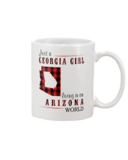 JUST A GEORGIA GIRL IN AN ARIZONA WORLD Mug thumbnail