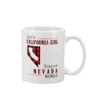JUST A CALIFORNIA GIRL IN A NEVADA WORLD Mug thumbnail