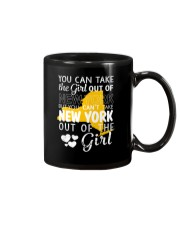 YOU CAN'T TAKE NEW YORK OUT OF THE GIRL Mug thumbnail