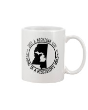 MICHIGAN GIRL LIVING IN MISSISSIPPI WORLD Mug thumbnail
