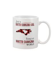 JUST A SOUTH CAROLINA GIRL-A NORTH CAROLINA WORLD Mug thumbnail