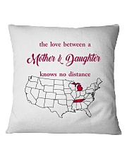 TENNESSEE MICHIGAN THE LOVE MOTHER AND DAUGHTER Square Pillowcase thumbnail