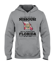 LIVE IN MISSOURI BUT I'LL HAVE FLORIDA IN MY DNA Hooded Sweatshirt thumbnail